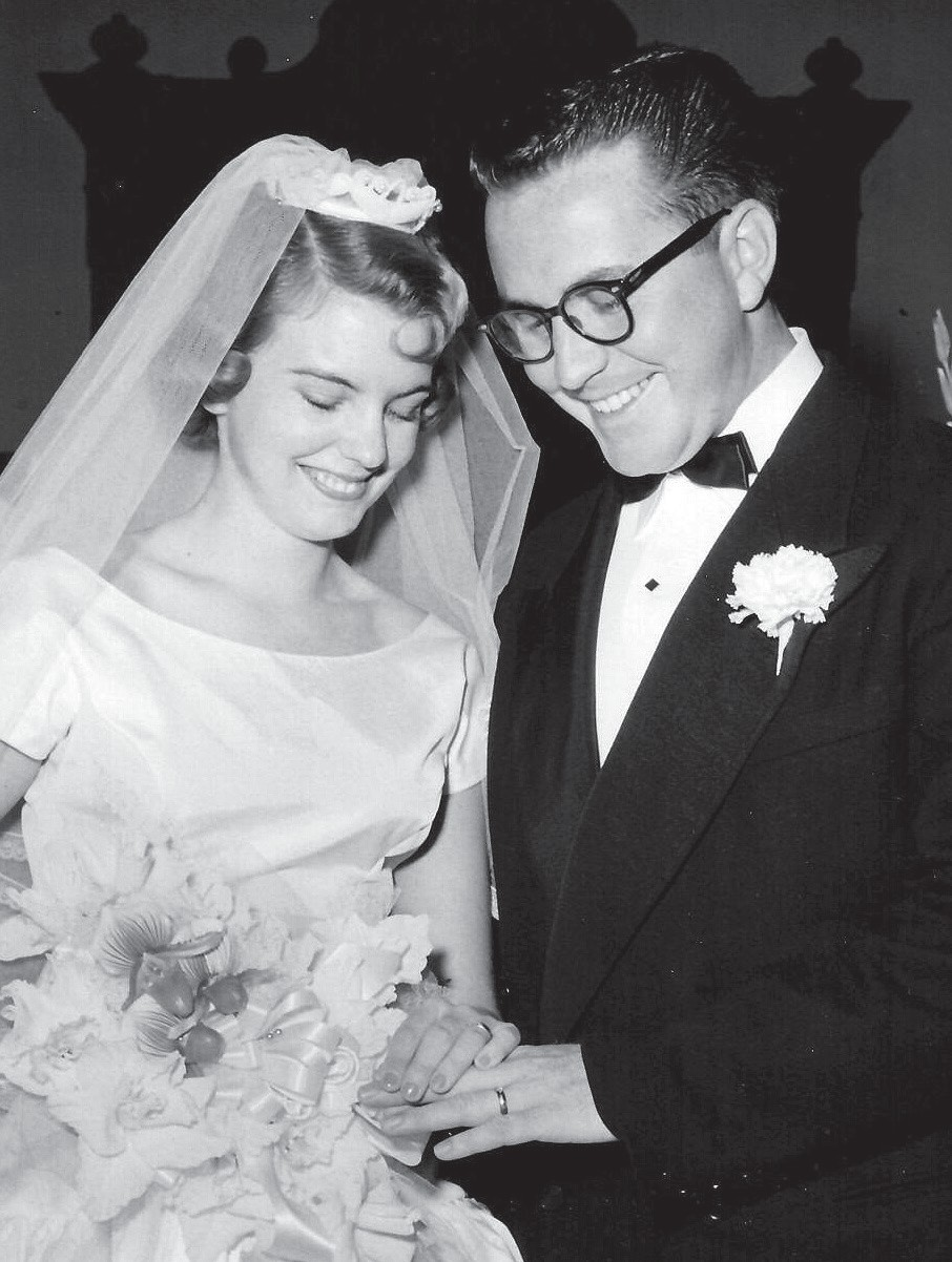 If you know this couple, call and wish them a happy 60th wedding anniversary. Submitted photo