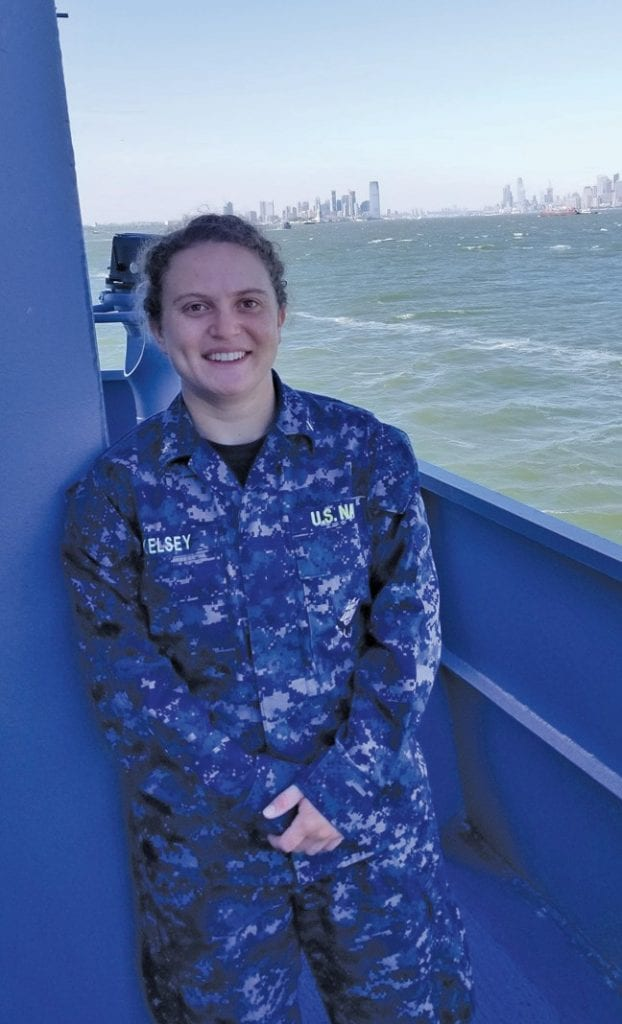 Ginny Kelsey, who grew up in Mariposa, was accepted into the U.S. Naval Academy and is hoping to let high school students know how they can do the same. Submitted photo