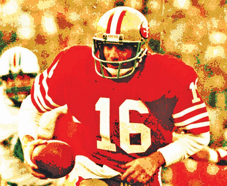 Joe Montana holds a special place in the hearts of San Francisco and Kansas City. Public domain photo