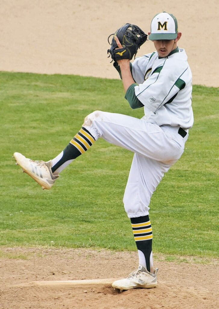 Jake Swift played both football and baseball for all four years of his high school experience. Photo by Matt Johnson