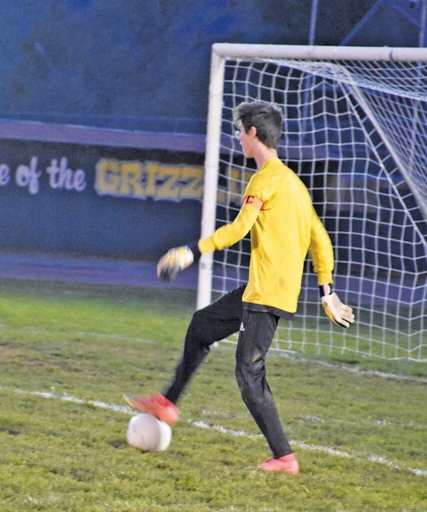 Although it used to bother Zach Fincher when he would give up goals, he learned to put aside the frustration and focus on the task at hand. Fincher was named to the Gazette's 2010-20 All-Decade Soccer Team not long ago, a very deserved honor.